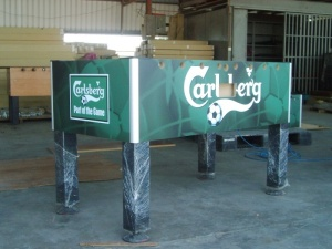 Carlsberg Custom Table