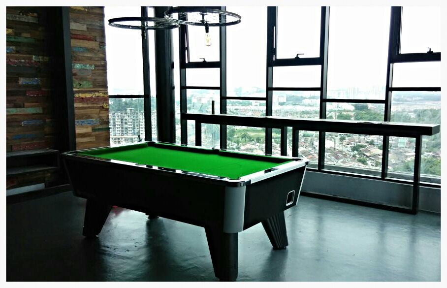 City British Token Operated Pool Table Malaysia Table Tennis - British pool table
