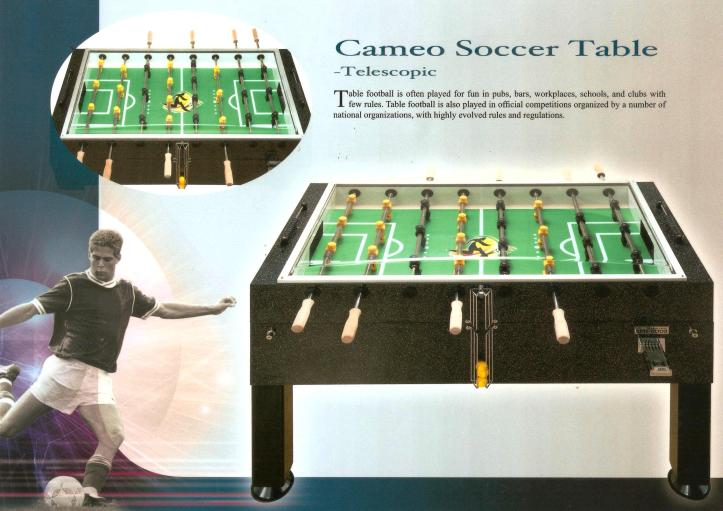 CM1 Cameo Telescopic Coin Operated with Playfield Cover