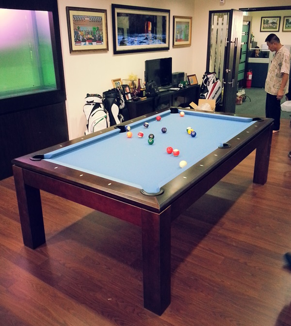Pranzo 8ft With Gold Cloth Pranzo 7ft Pool Table