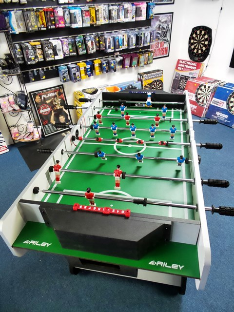 Riley Foldable Foosball Table 4ft Playfield