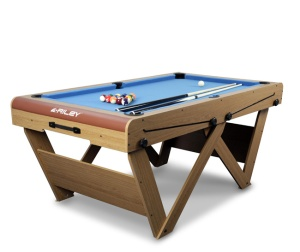 Riley W Foldable Pool Table