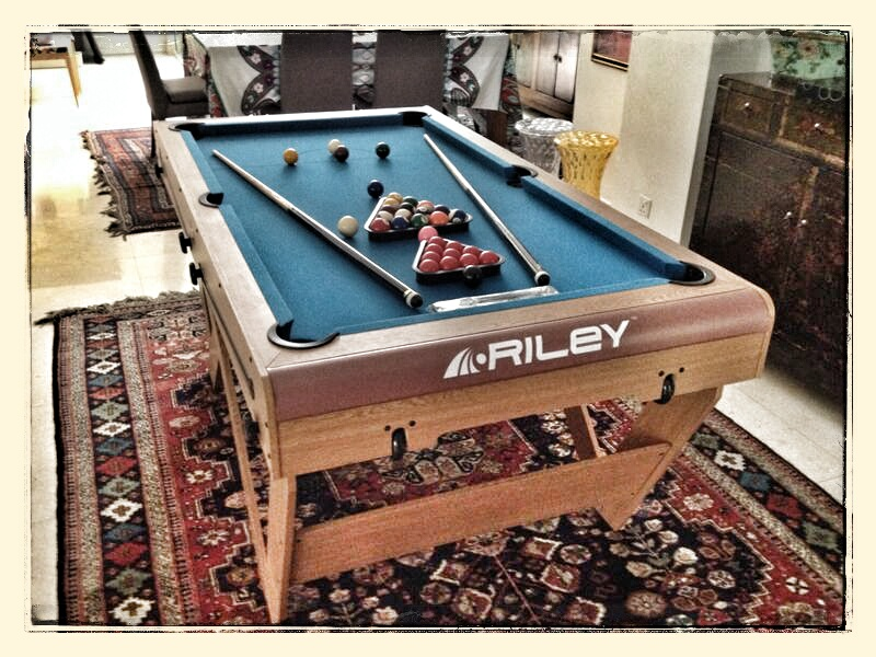 Riley Ft W Foldable Pool Table Malaysia Table Tennis Shop - Fold out pool table
