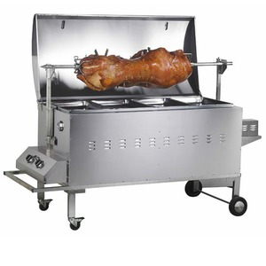 Liberty Gas-Charcoal BBQ Griller - Roaster