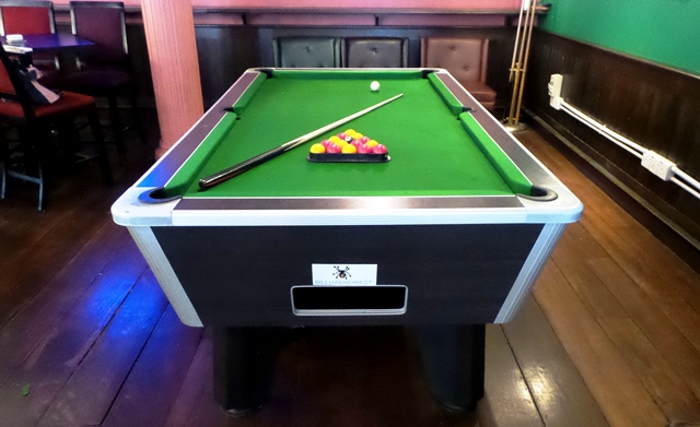 Malones Sentral British Pool Table