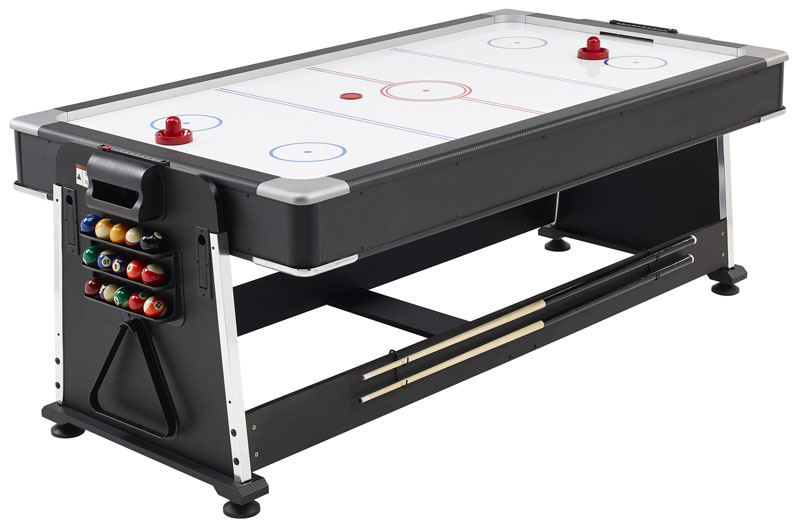 Spin Over For Air Hockey