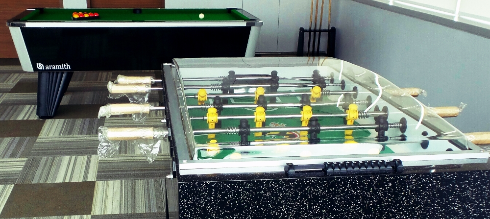 City British with Cameo Foosball