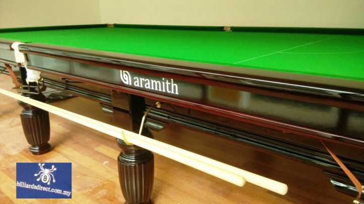 Crown Snooker 12ft pic3 with Logo