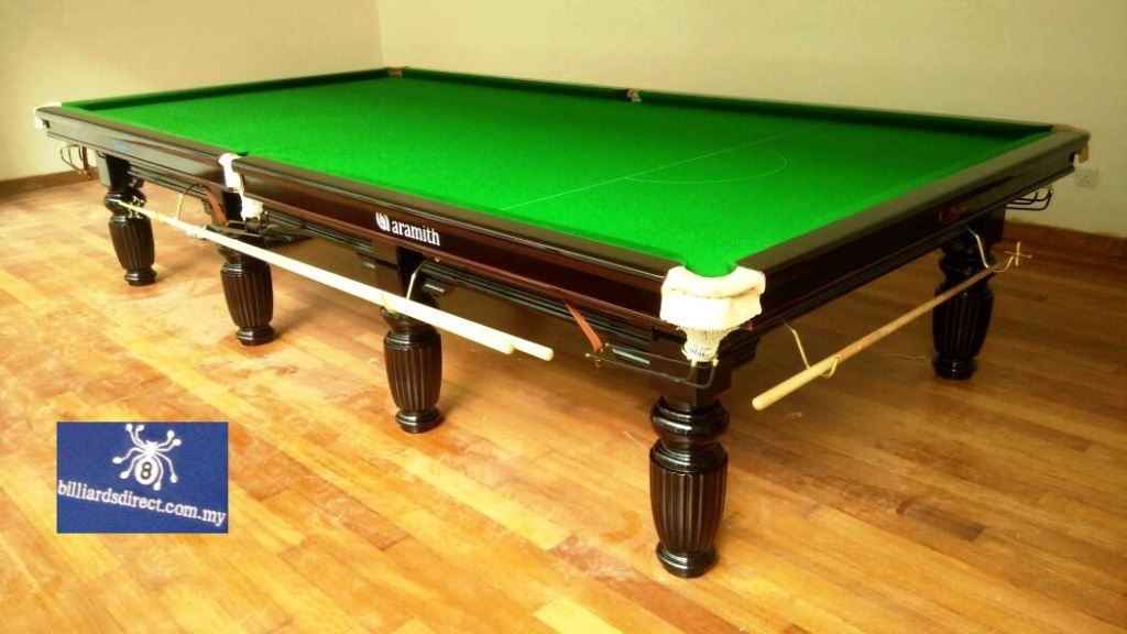 Crown Snooker 12ft with Logo