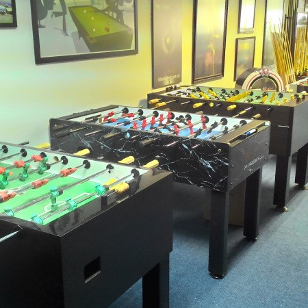 The most wanted item in 2016 so far has been, FOOSBALL