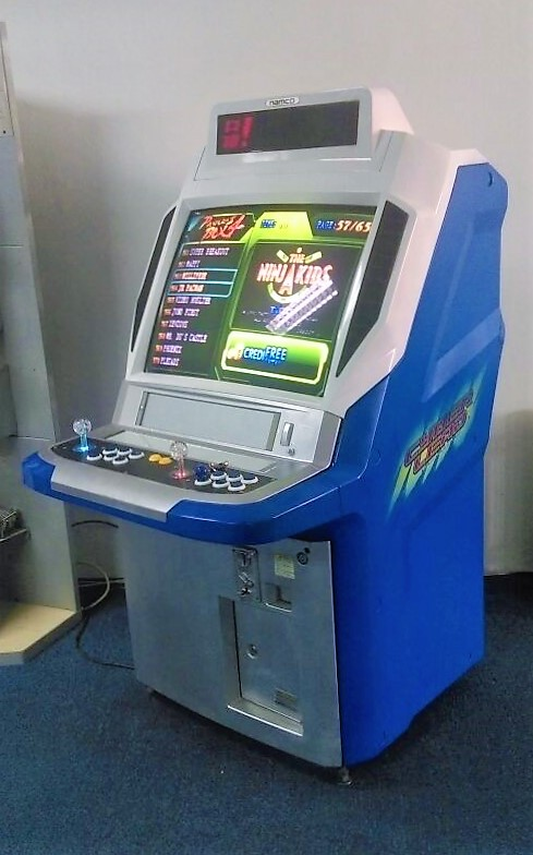 Namco Refurbished Arcade Machine in Showroom 2 2016