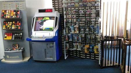 Namco Refurbished Arcade Machine in Showroom 3 2016