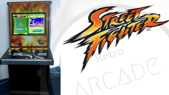 Street Fighter Retro Arcade Machine